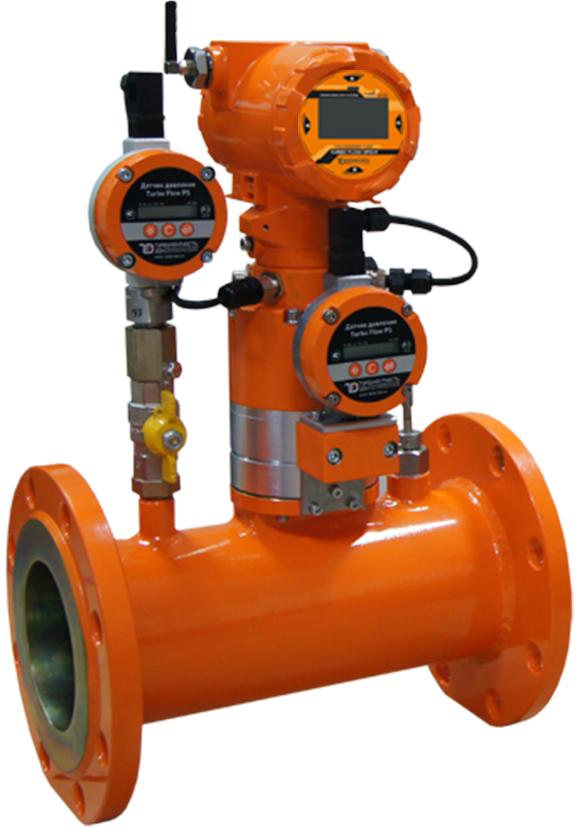 Расходомер газа Turbo Flow GFG-F