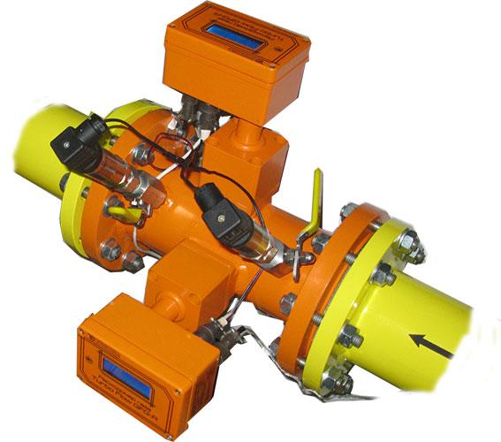 Реверсивный расходомер газа линейки Turbo Flow серии GFG-F