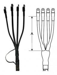 Концевые для кабелей с бумажной изоляцией до 1 кВ